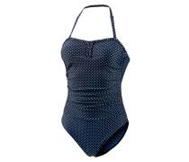 Badeanzug Damen, blau