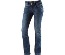 Goldie Straight Fit Jeans Damen, used washed