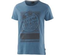 Producer Printshirt Herren, blau
