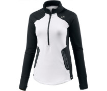 Armour Reactor Langarmshirt Damen, WHITE/BLACK/WHITE