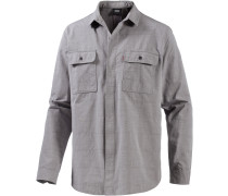 Commuter LS Workshirt Funktionshemd Herren, grau