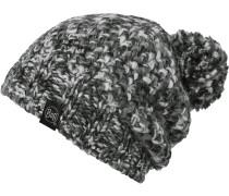 Knitted & Polar Hat Bommelmütze, grau