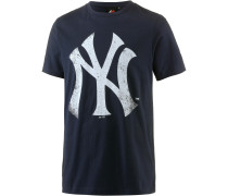New York Yankees T-Shirt Herren, blau