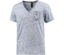V-Shirt Herren, Blau