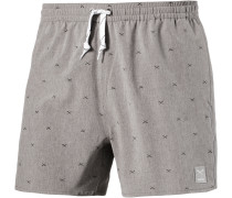 Flag X Swim 2 Shorts Herren, grau