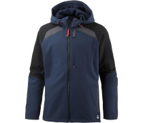 EXILE SOFTSHELL Fleecejacke Herren, Ink Blue