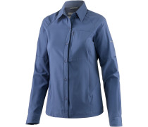 Silver Ridge Funktionsbluse Damen, blau