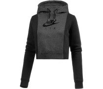 NSW RALLY AIR Hoodie Damen, BLACK HEATHER/BLACK/BLACK
