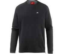 NSW Sweatshirt Herren, BLACK/CARBON HEATHER