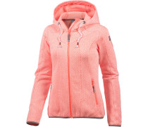 Lida Strickfleece Damen, orange