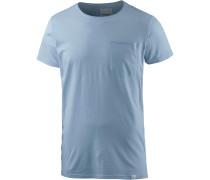 T-Shirt Herren, blue fog