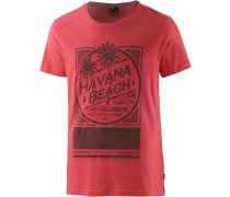 Producer Printshirt Herren, rot