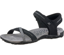 Terran Cross 2 Outdoorsandalen Damen, schwarz