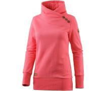 Nest Sweatshirt Damen, coral melange