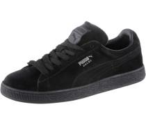 Suede Classic+ Sneaker, schwarz
