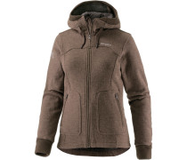 Myrull Fleecejacke Damen, clay