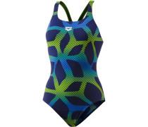 Spider Schwimmanzug Damen, navy/leaf