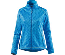 Gavarnie Fleecejacke Damen, blau/allover