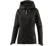 Active Softshelljacke Damen, schwarz
