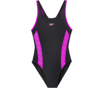 Schwimmanzug Mädchen, mehrfarbig