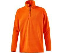 Perfecty Fleecepullover Herren, orange