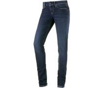 Soho Skinny Fit Jeans Damen, darkblue denim