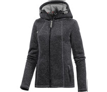 Renne Strickfleece Damen, Grau