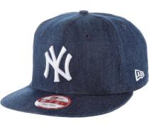 Denim Basic 9 Fifty NYY Cap, schwarz