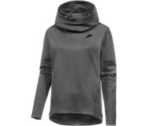 Tech Fleece Hoodie Damen, grau