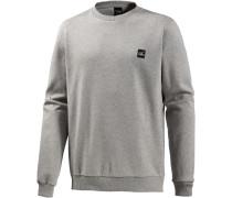 Tech Crew Sweatshirt Herren, grau