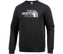 Drew Peak Crew Sweatshirt Herren, TNF Black