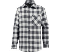 Red River Funktionshemd Herren, ebony checks