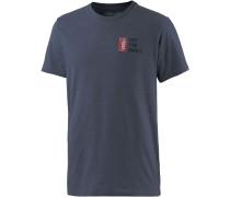 Off The Wall T-Shirt Herren, blau
