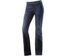 Sandy Bootcut Jeans Damen, blau