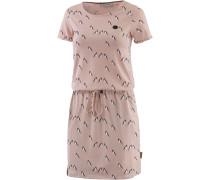 El Majmuni Doofmann II Jerseykleid Damen, dusty pink melange