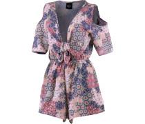 Flower Bonnie Jumpsuit Damen, rosa/pink/blau