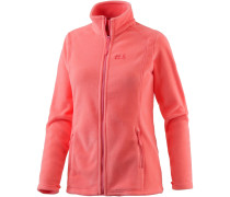 Midnight Moon Fleecejacke Damen, rosa