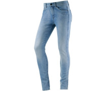 3301 Ultra High Super Skinny Skinny Fit Jeans Damen, blue grey denim