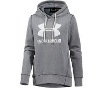 Favorite Hoodie Damen, CARBON HEATHER/WHITE
