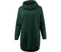 Rollkragenpullover Damen, dark green