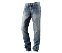Cash Straight Fit Jeans Herren, blau