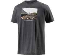 Weareframless Printshirt Herren, grau