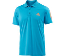 Club Tennisshirt Herren, blau