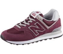 ML574 Sneaker Herren, burgundy