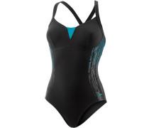 Shinedream Placement 1 Piece Schwimmanzug Damen, mehrfarbig
