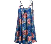 Windy Fly Away Print Dress Minikleid Damen, royal/koralle/jade