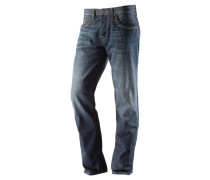 Pierre Straight Fit Jeans Herren, blau