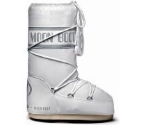 Moon Boot Nylon Winterschuhe Damen, weiß