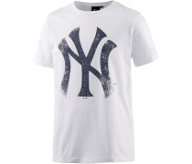 New York Yankees T-Shirt Herren, weiß