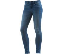 onlRoyal Skinny Fit Jeans Damen, blue washed denim